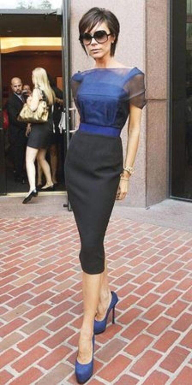 Stil ikonu Victoria Beckham