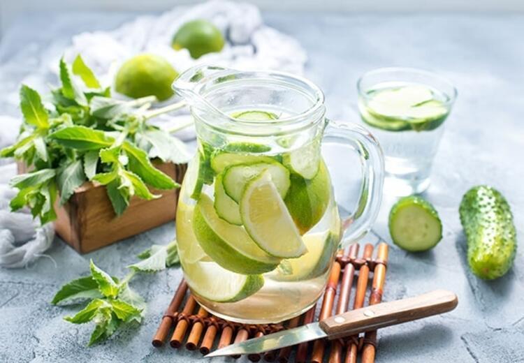 Su içmeyi keyifli hale getiren lezzetler