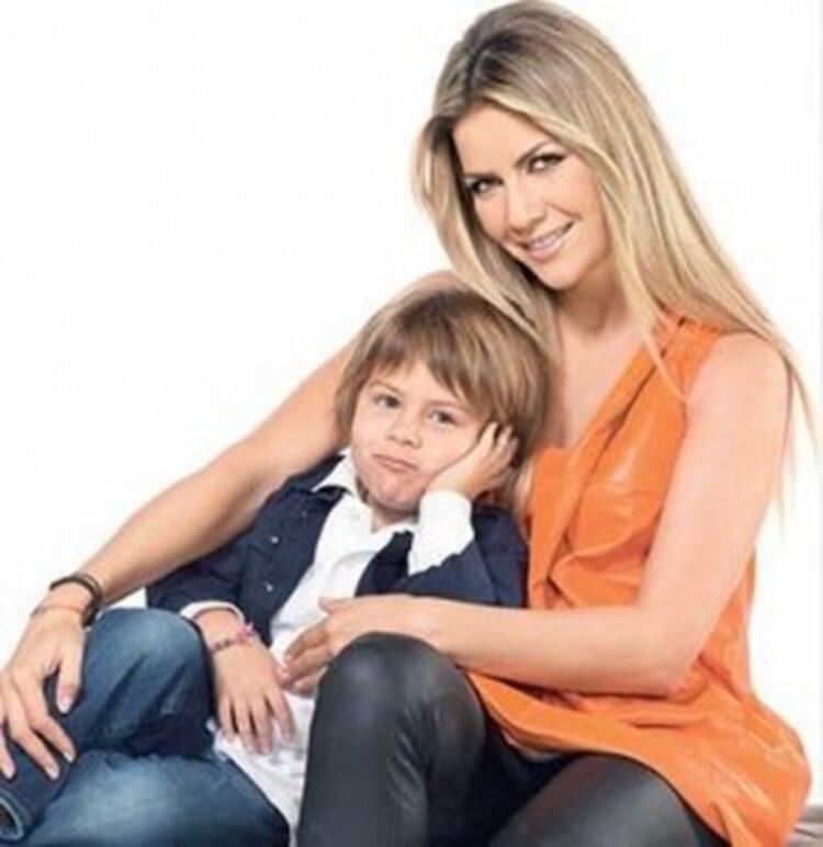 Ivana Sert'in oğlu Ateş