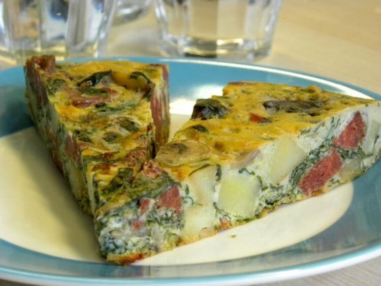 İtalyan omleti (Frittata)