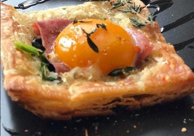 Milföylü yumurta