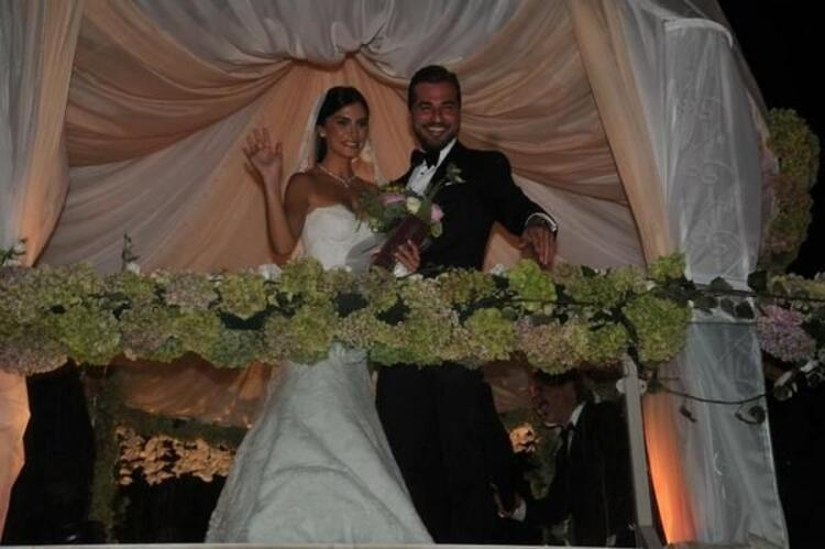 Engin Altan ve Neslişah'ın düğününden kareler
