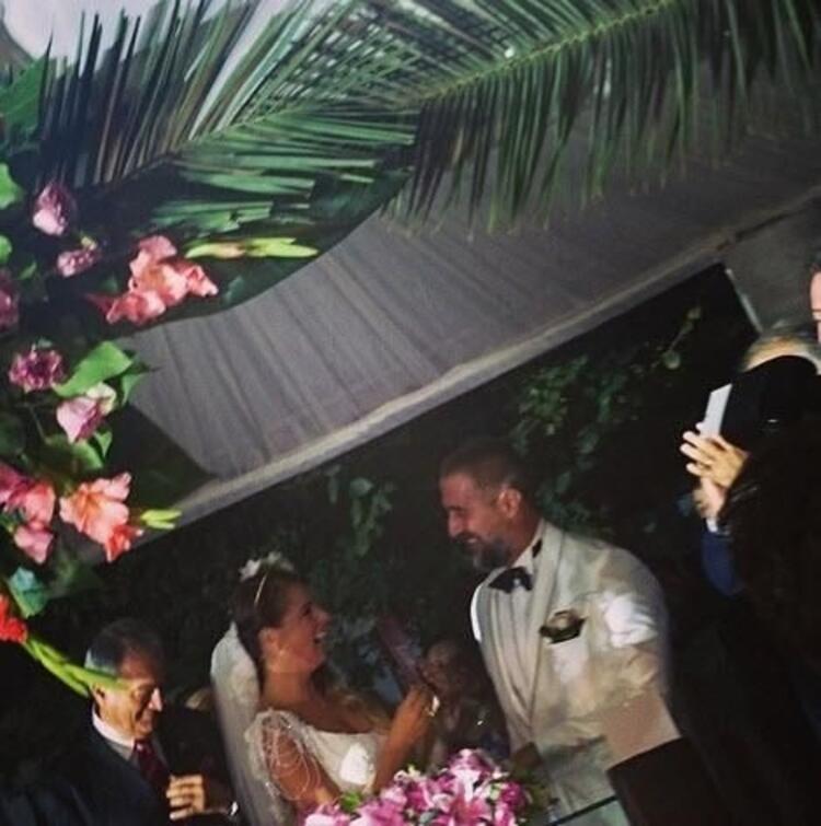 İşte düğünden eğlenceli kareler