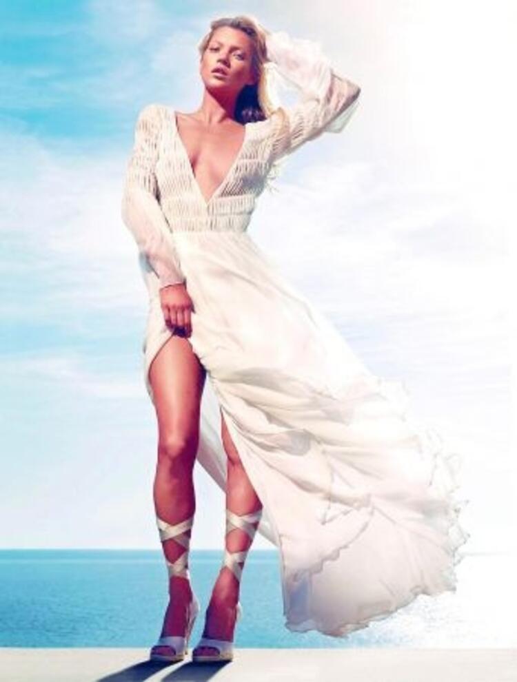 Moda ikonu Kate Moss