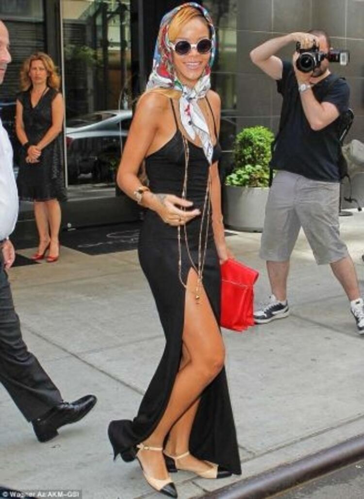 Çılgın moda ikonu Rihanna
