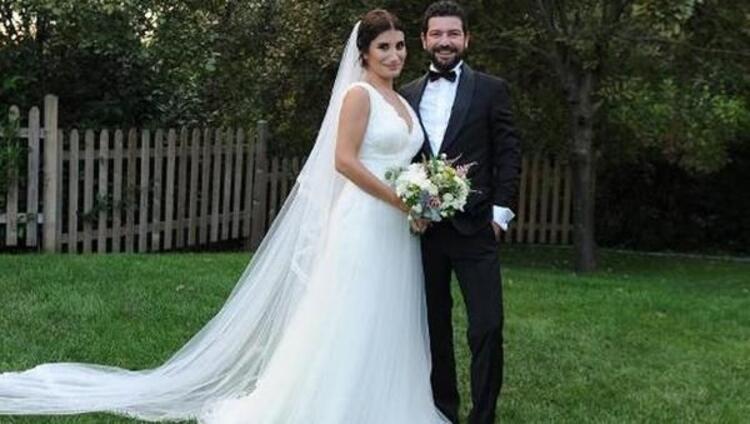 İrem Derici'nin düğününden kareler