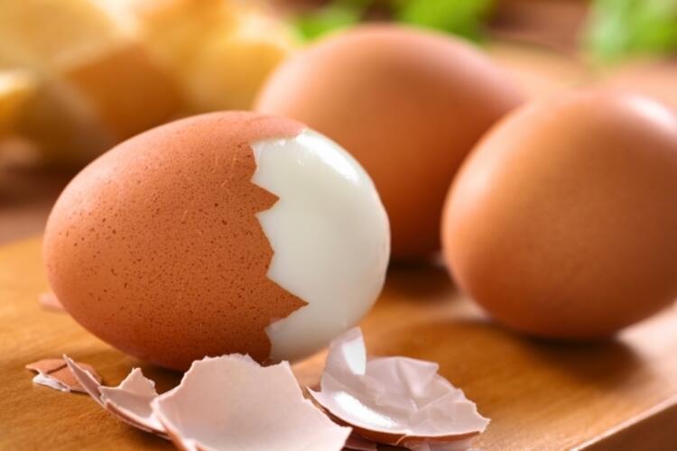 Sert haşlanmış yumurta