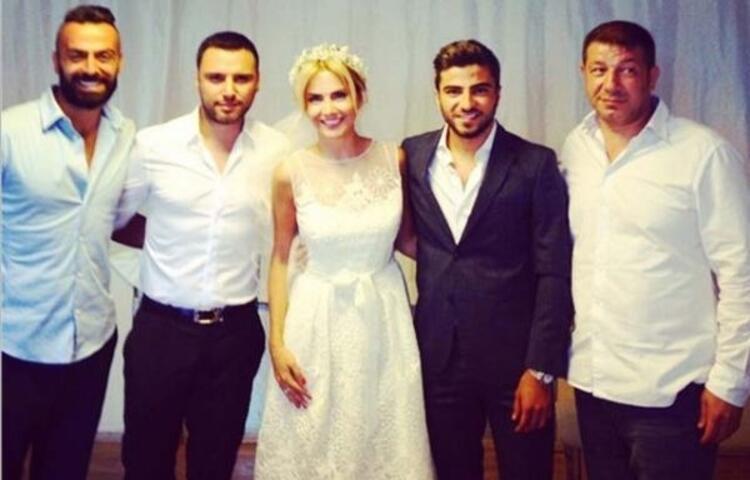 Ece Erken evlendi