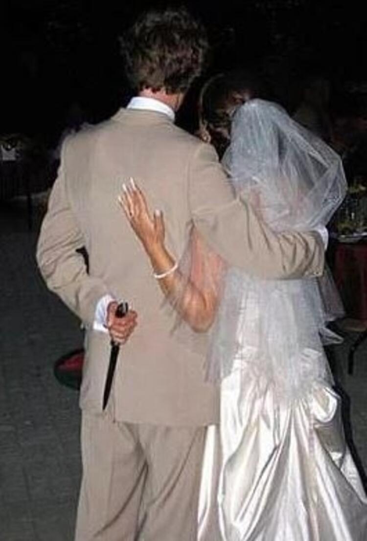 En ilginç düğün fotoğrafları