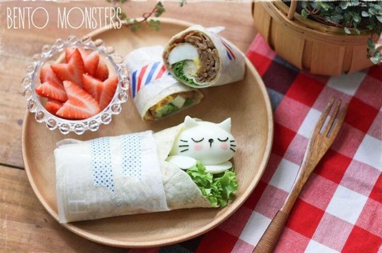 Japon annenin çocuklarına hazırladığı harika yemekler