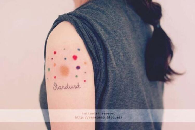 Dövme yaptırmakta kararsızlık yaşayanlara mini dövmeler