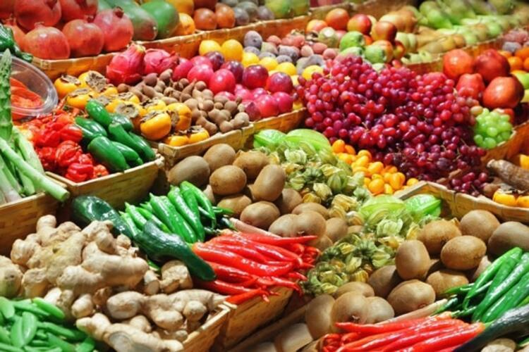 Çok çeşitli sebzeler, meyveler tüketin