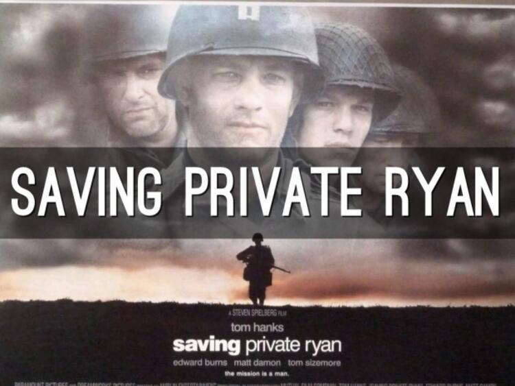 Saving Private Ryan (Er Ryanı Kurtarmak)
