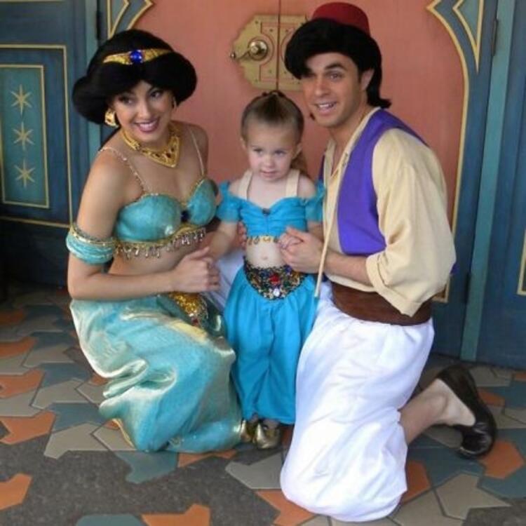 Prenses Yasemin ve Aladdin
