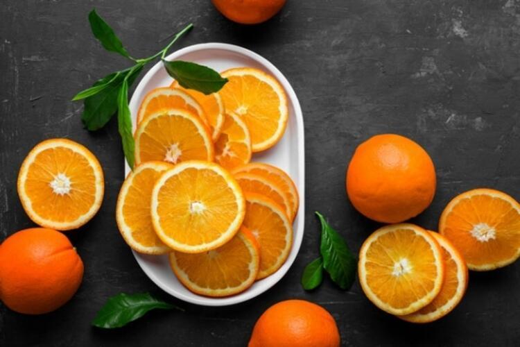 Soğuk algınlığı ile mücadelede portakal