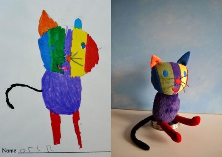 5 yaşındaki Orinin sevimli kedisi