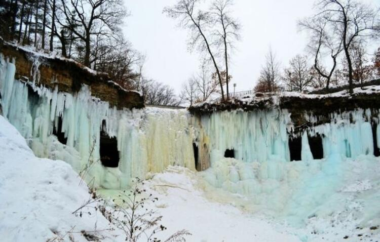 Büyüleyici kış manzaraları