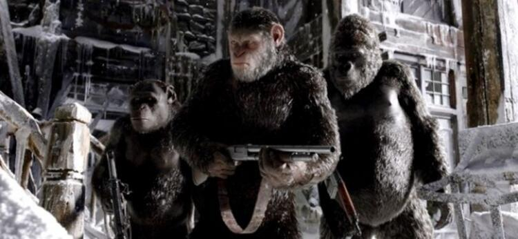War For the Planet of the Apes (Maymunlar Cehennemi Savaş)
