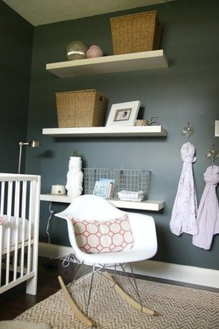 Siyah bebek odası olur mu demeyin