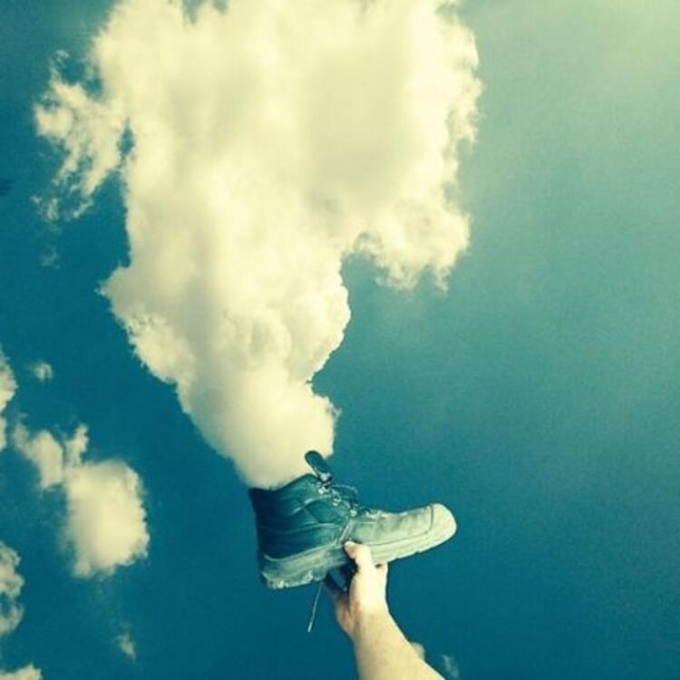 Bulutları hiç böyle görmemiştiniz
