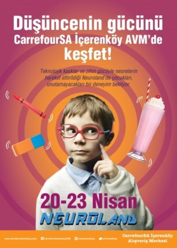 Düşüncenin Gücünü CarrefourSA İçerenköy AVM'de Keşfet