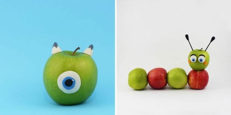 Elma Wazowski - Elma tırtıl