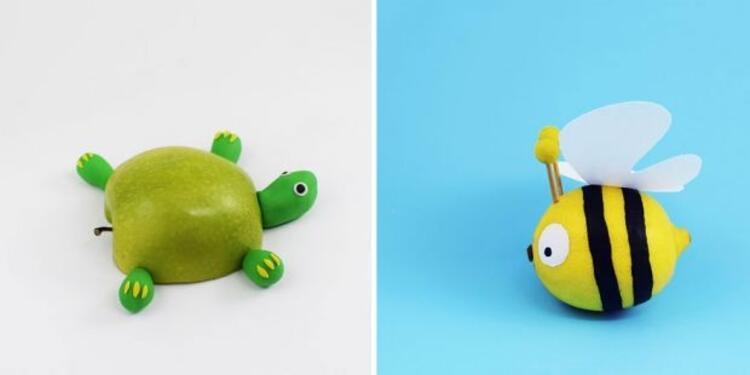 Elma kaplumbağa - Limon arı