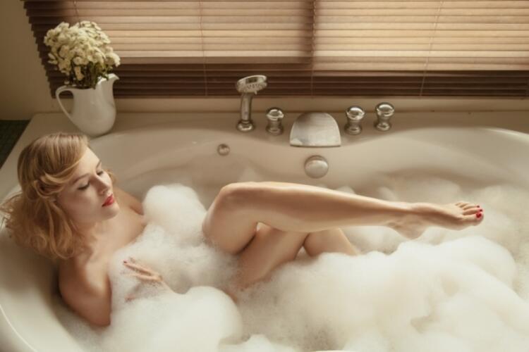 Sabun yerine ılık su