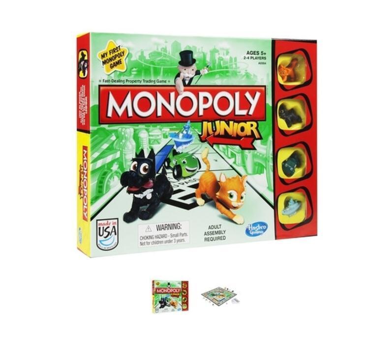 İşte çocukların ilk monopoly oyunu
