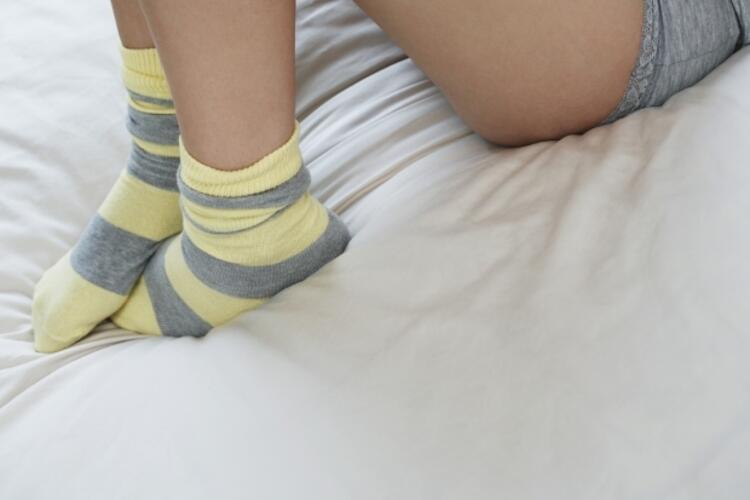 Ayaklarınızı sıcak tutun