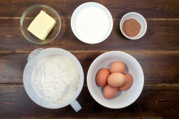 Afrika zebra kek tarifi malzemeler: