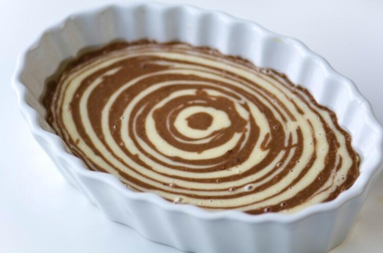 Afrika zebra kek tarifi hazırlanışı: