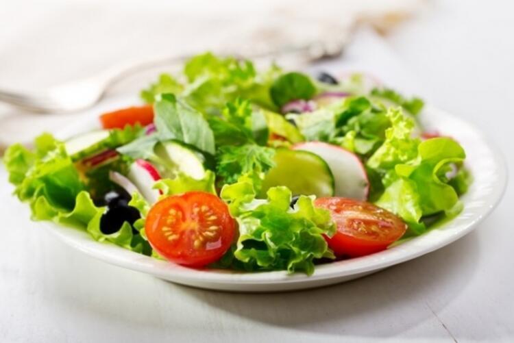 Zayıflatan salata