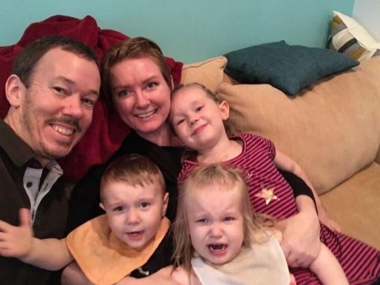 İşte aile selfiesi