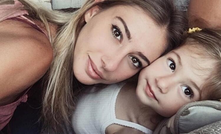 Şeyma Subaşı ve kızı Melisa