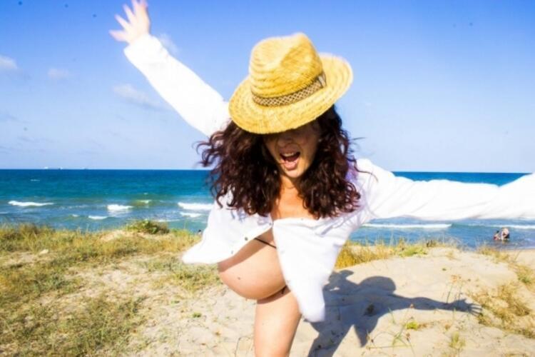 Hamile bir kadın ne kadar süre güneşte kalmalı