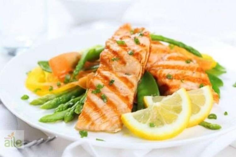 5. Egzersizden sonra mucize balık somon