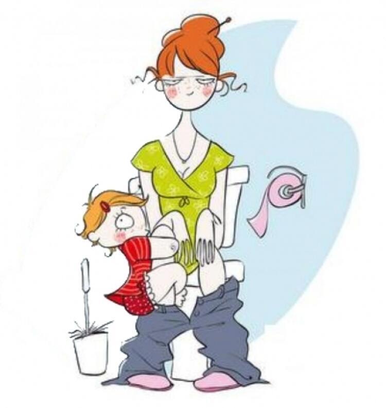 Anne hiçbir yerde yalnız bırakılmaz