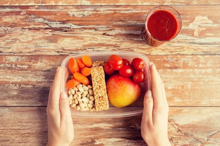 Beslenme çantası için örnek menüler;