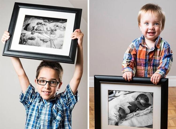 Felix 23 haftalık iken, kardeşi Alexis ise 33 haftalık iken doğdu