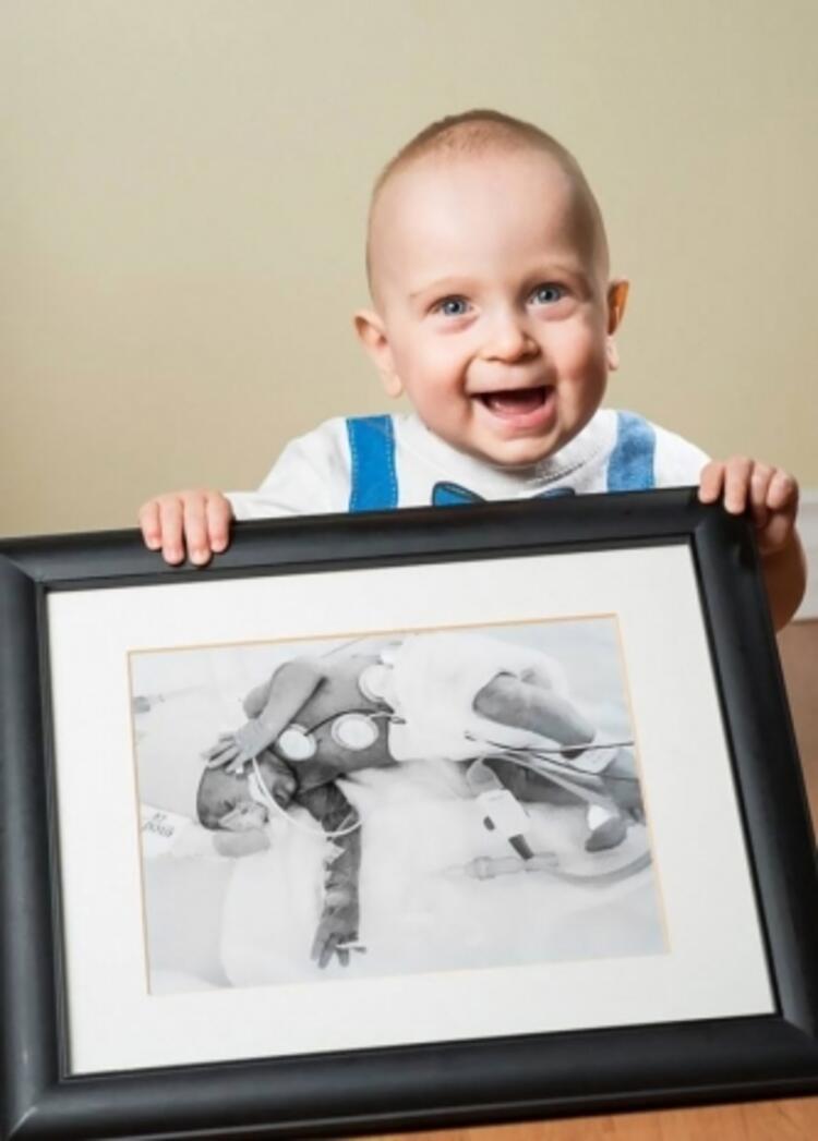 Emile, 26 haftalık iken doğdu