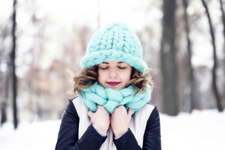 Soğuk havalara karşı cildinizi korumayı ihmal etmeyin