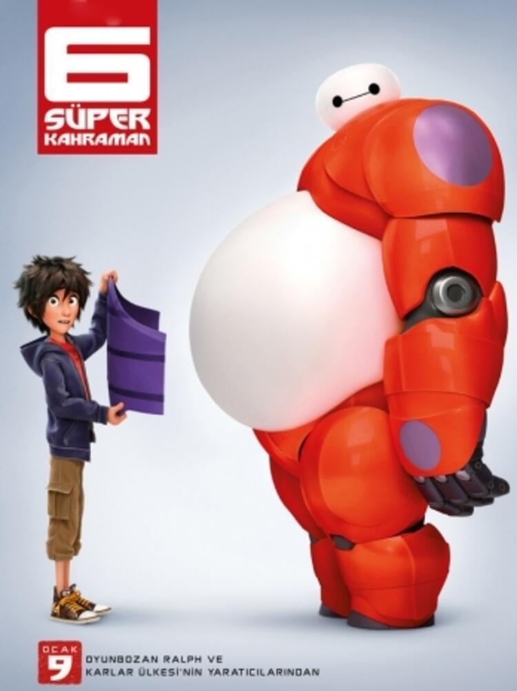 6 Süper Kahraman (Bilim kurgu/Aksiyon filmi)