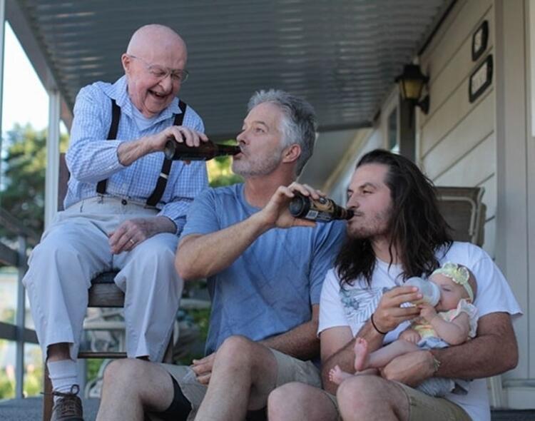 Babalarından beslenenler