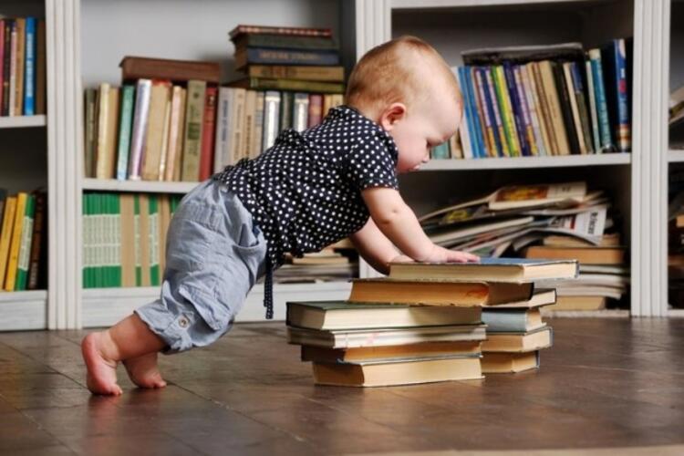 6- Evde kütüphane oluşturun