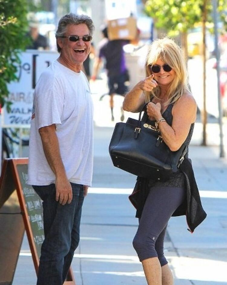 Kurt Russell ve Goldie Hawn