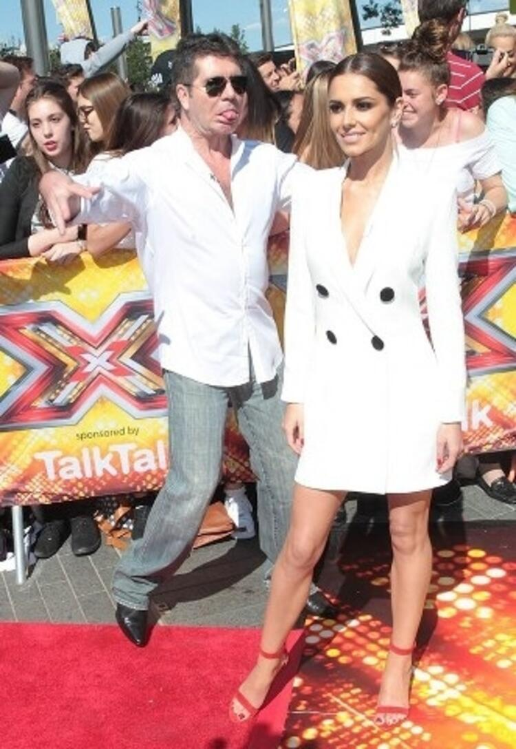 Simon Cowell ve Cheryl Cole