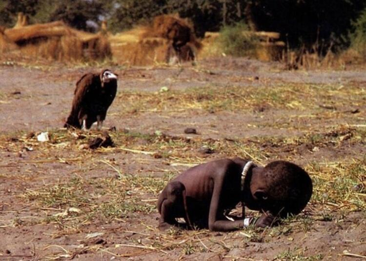 Kevin Carter - Akbaba ve Çocuk