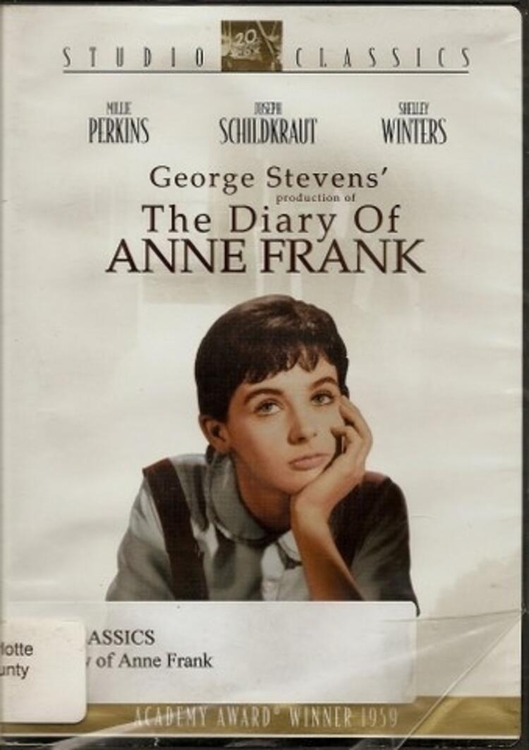 Anne Frankın Hatıra Defteri-The Diary of Anne Frank - 1959