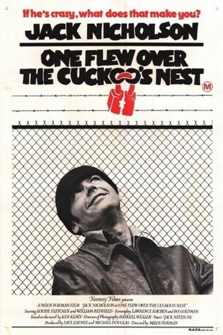 Guguk Kuşu - One Flew Over the Cuckoo's Nest - 1975